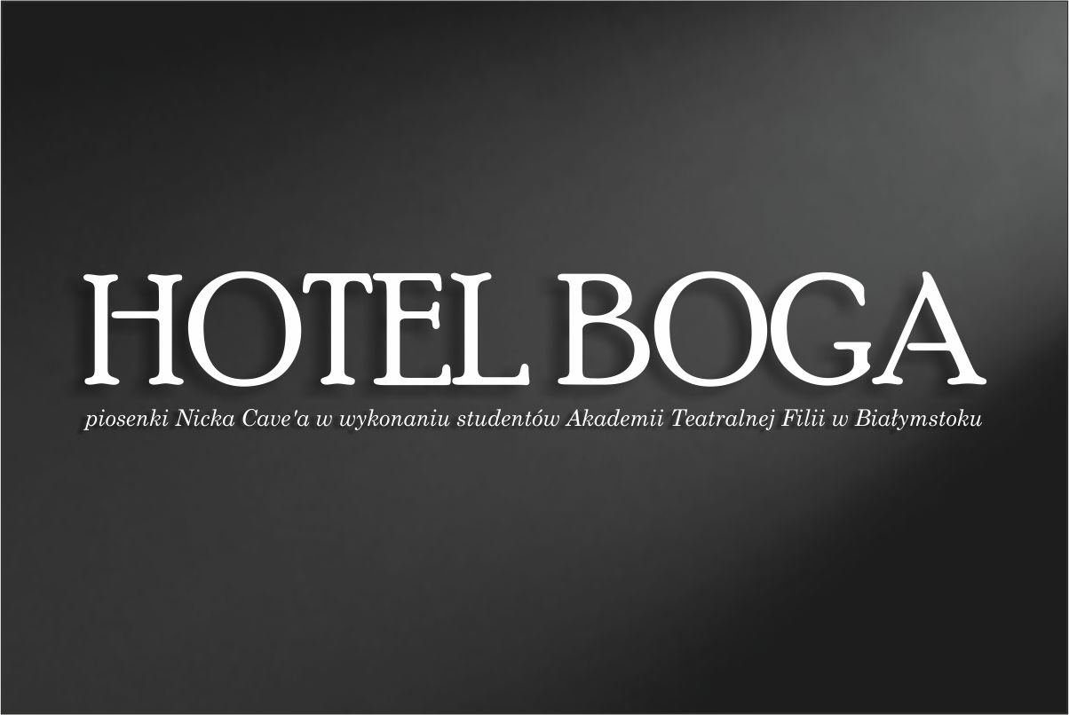 HOTEL BOGA – PIOSENKA AKTORSKA