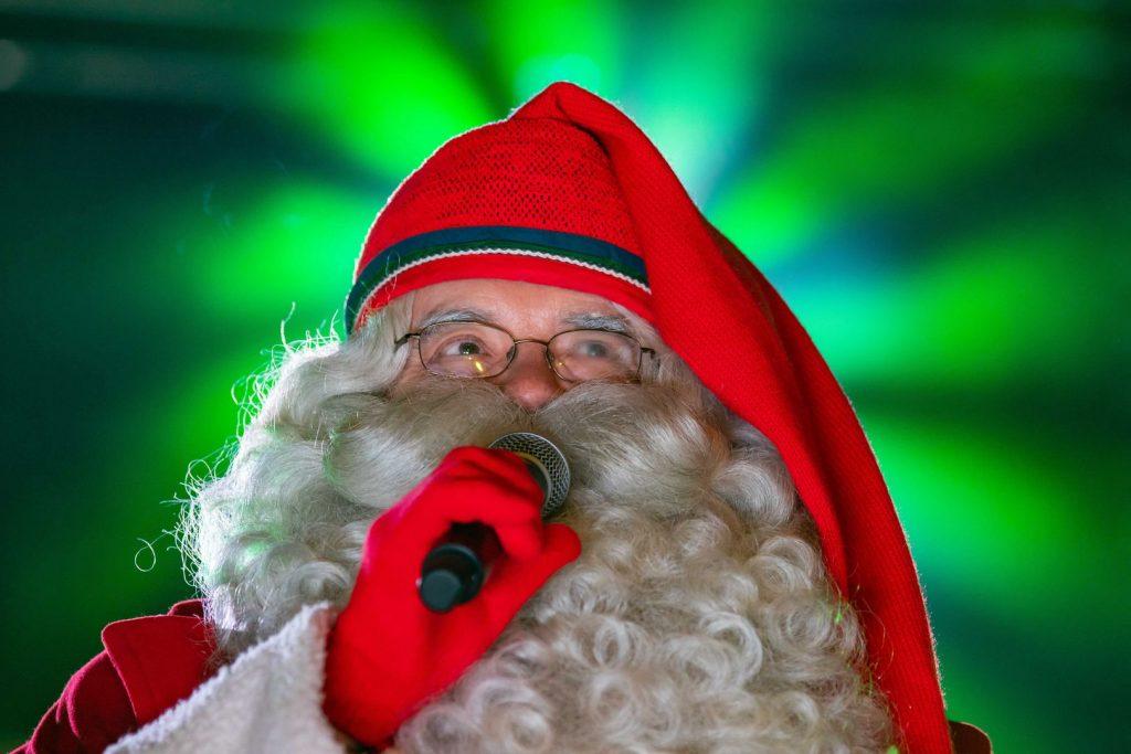 Św. Mikołaj  z fińskiego Rovaniemi